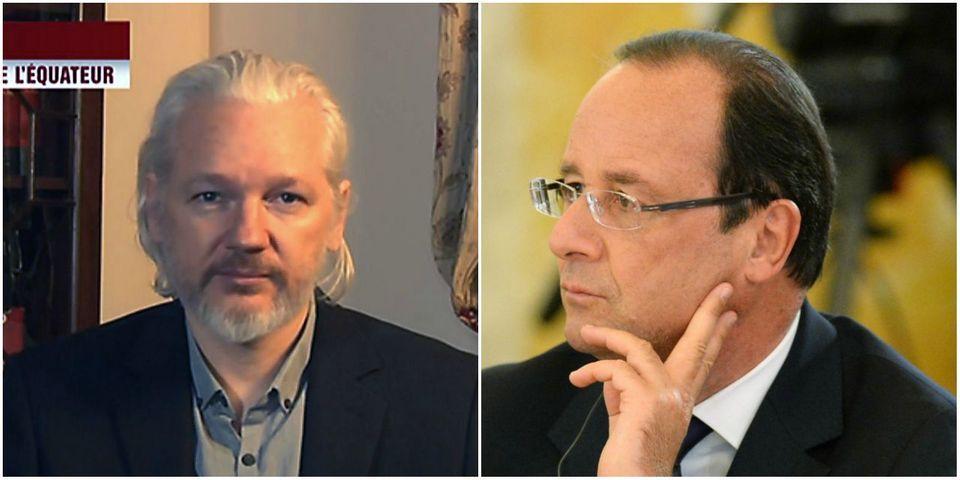 """Julian Assange s'en prend à François Hollande, """"une escroquerie comme de nombreux politiciens"""""""
