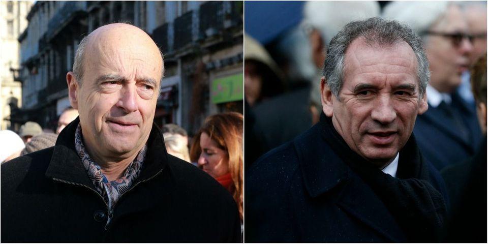"""Juppé """"condamne"""" la menace de Bayrou de se présenter si Sarkozy gagne la primaire"""