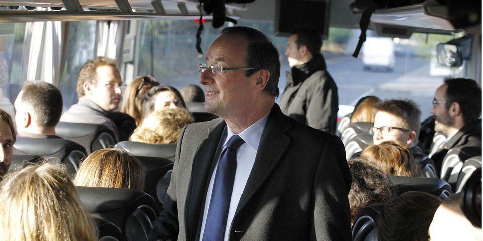 L'éloge des voyages en autocar par François Hollande