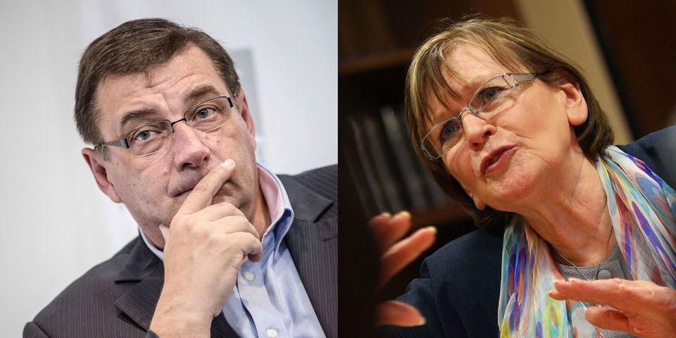 L'UMP Jean-François Lamour et la communiste Marie-George Buffet craignent que les Sports ne soit dilués dans le ministère *élargi* de Najat Vallaud-Belkacem