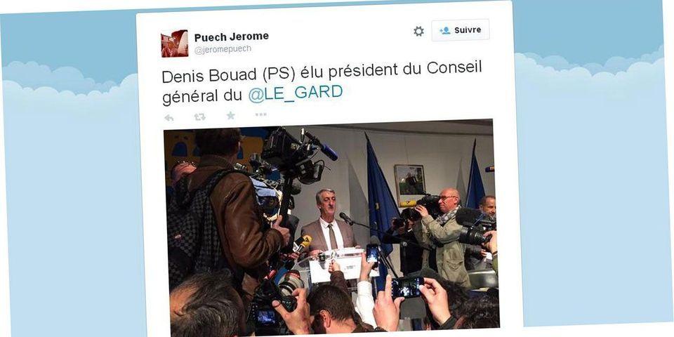 L'UMP retire sa candidature pour la présidence du département du Gard, qui reste à gauche