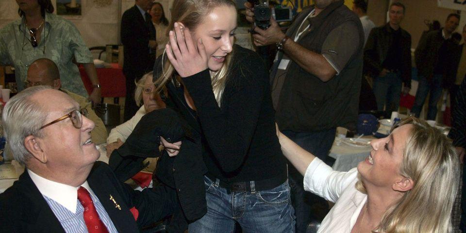 """La blague de Jean-Marie Le Pen sur la fille de Marion Maréchal-Le Pen (2 ans et demi) : """"Nous la préparons pour 2040"""""""