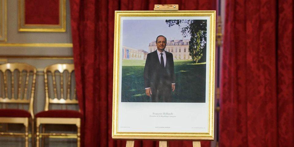 """La """"blague potache"""" d'un candidat aux municipales : tirer à la carabine sur une photo de François Hollande"""