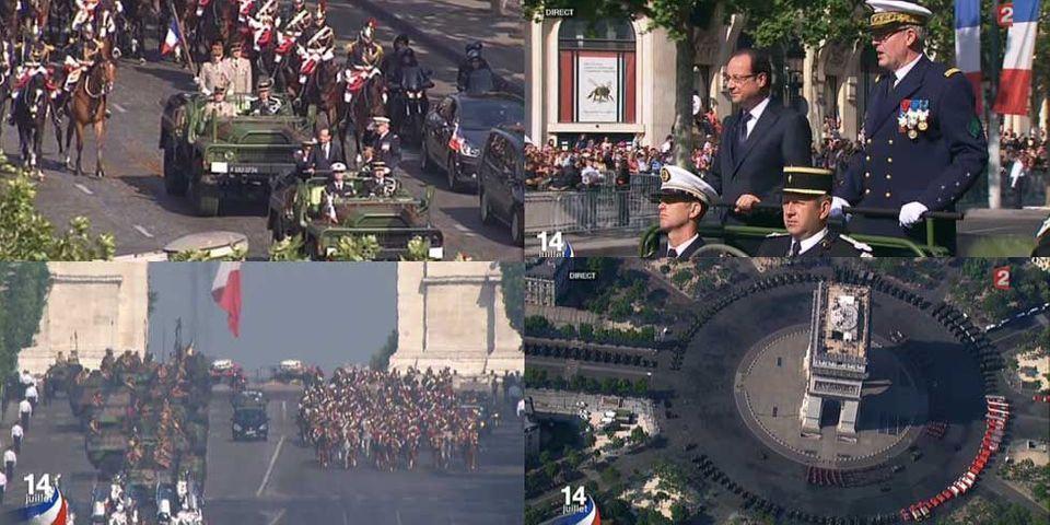 La célébration du 14 juillet 2013 par François Hollande en images