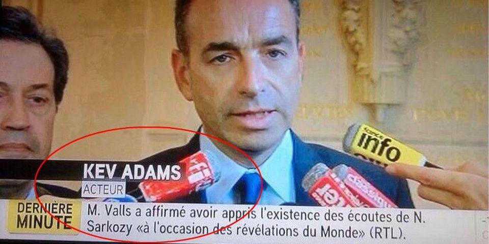 """La chaîne d'info iTélé présente Jean-François Copé comme """"Kev Adams, acteur"""""""
