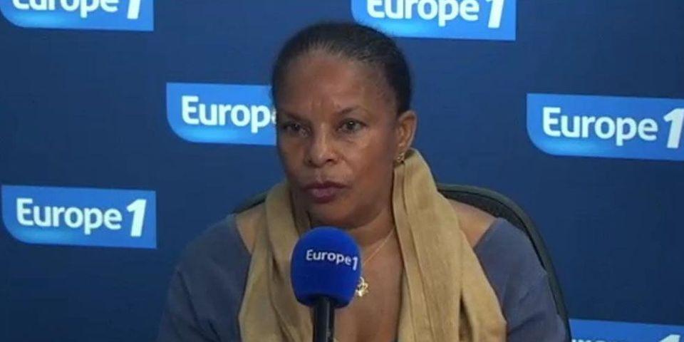 """La charge de Taubira contre la """"une"""" """"machiste"""" de l'Express sur """"les femmes"""" de Hollande"""