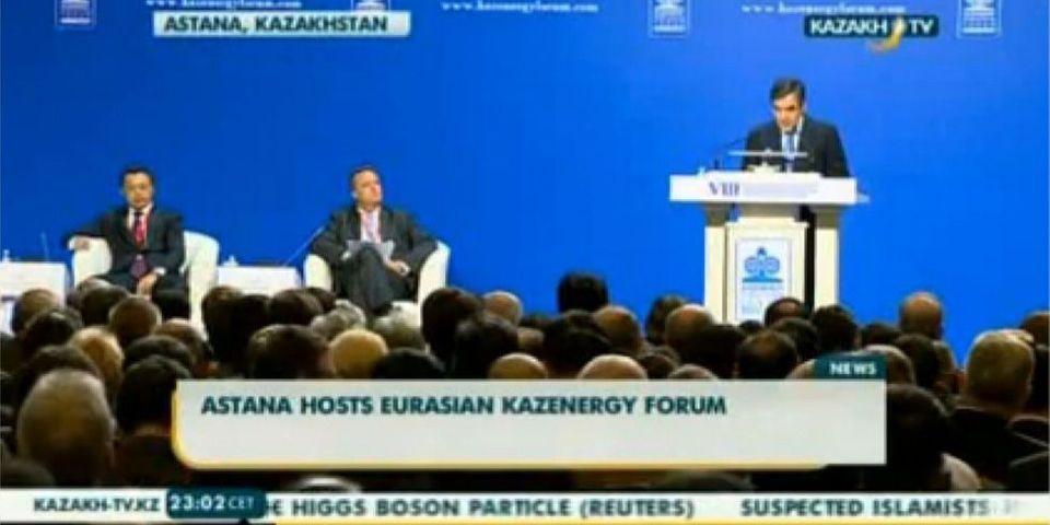 François Fillon donne une conférence rémunérée au Kazakhstan