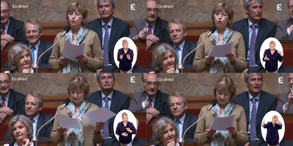 La députée PS Annie Le Houerou compare la situation de l'En Avant Guingamp, victorieux en coupe de France, à celle de la France de François Hollande