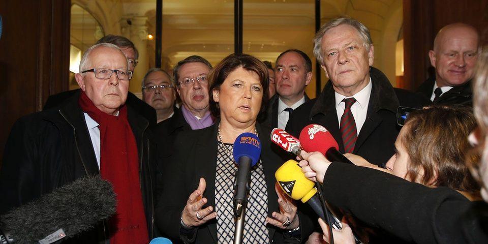 La discussion par médias interposés entre Martine Aubry et Manuel Valls