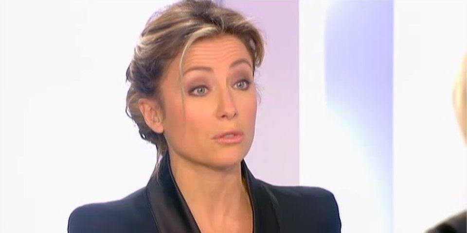 La fessée d'Anne-Sophie Lapix à Marine Le Pen