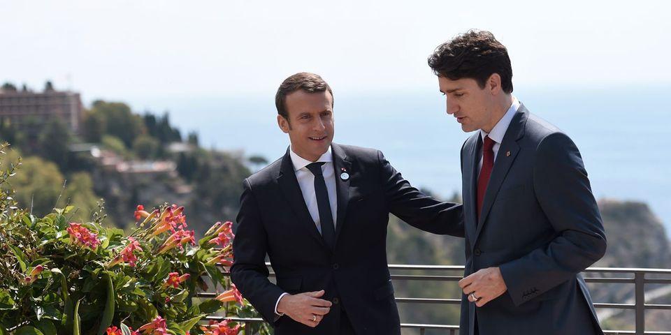 La France et le Canada tiennent à vous faire savoir que Macron et Trudeau s'entendent à merveille