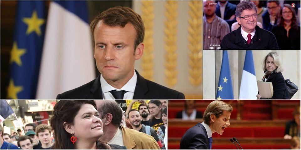 """La grosse charge de Macron contre Mélenchon sur les """"ratés du suffrage universel"""", article le plus lu de la semaine"""
