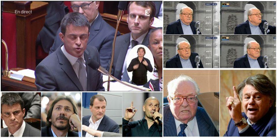 La grosse colère de Valls contre l'UMP à l'Assemblée, article le plus lu de la semaine