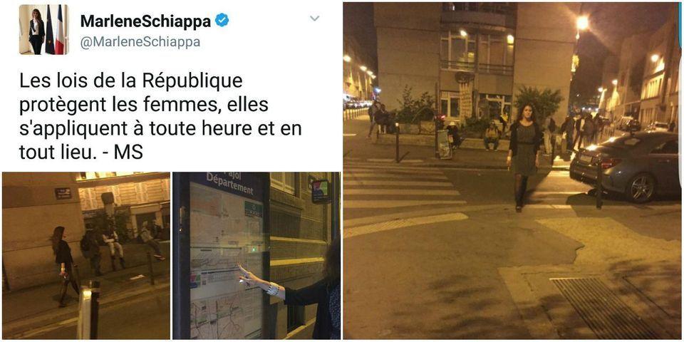 La grosse erreur de com' de Marlène Schiappa sur sa visite nocturne dans le quartier La Chapelle-Pajol