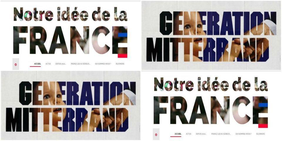 """La grosse ressemblance entre le slogan pro-Hollande et """"Génération Mitterrand"""""""