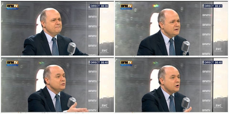 """La laborieuse explication de Bruno Le Roux sur l'utilisation de l'expression """"Français de souche"""" par François Hollande"""