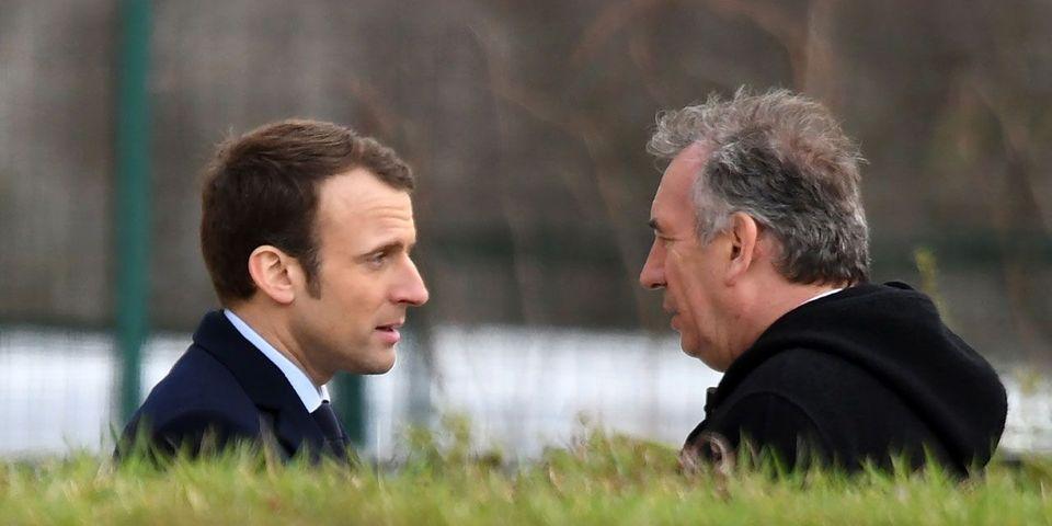 """La leçon d'immodestie de François Bayrou, """"sparring-partner"""" d'Emmanuel Macron"""