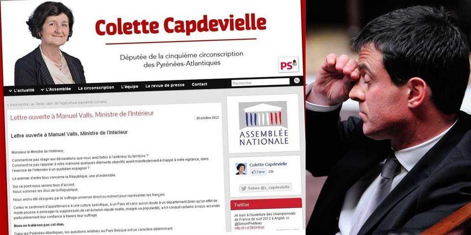 La lettre ouverte très énervée des élus socialistes basques contre Manuel Valls