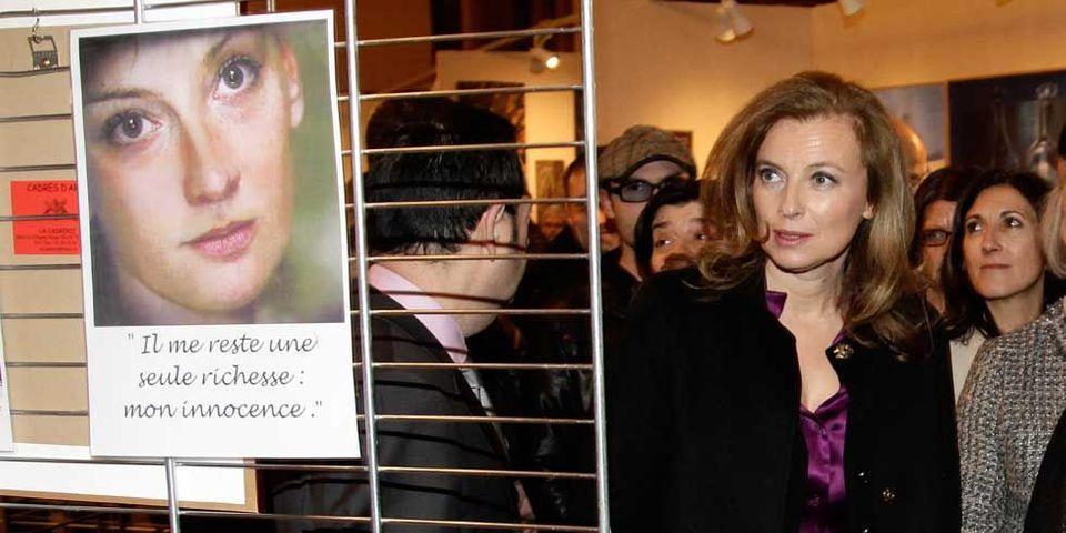 La libération de Florence Cassez suivie de près par Valérie Trierweiler