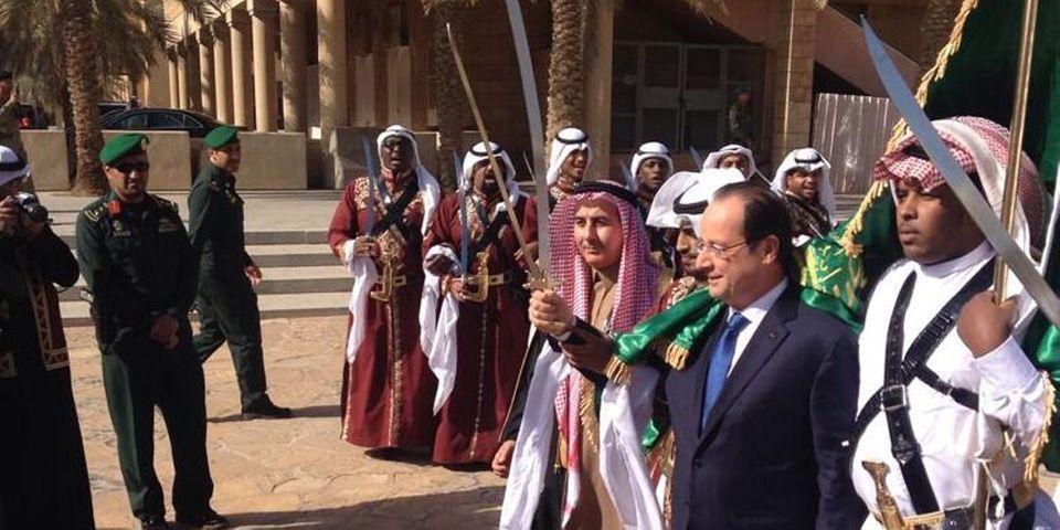 La petite blague de François Hollande en Arabie Saoudite