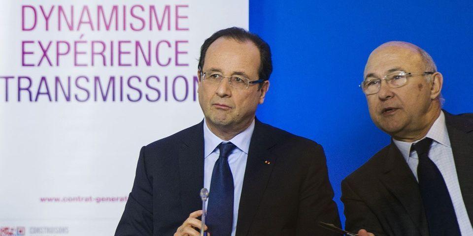 La petite blague de François Hollande qui envoie Michel Sapin à Matignon