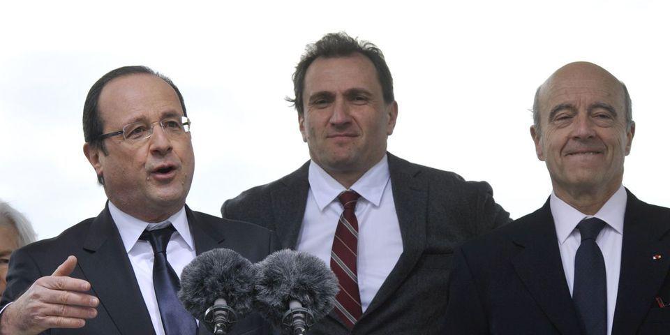 La petite blague de François Hollande sur la droitisation d'Alain Juppé