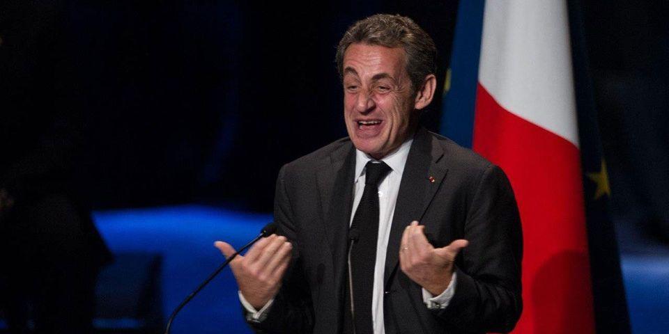La petite blague de Nicolas Sarkozy pour réagir à l'espionnage de Thierry Solère par la DGSE