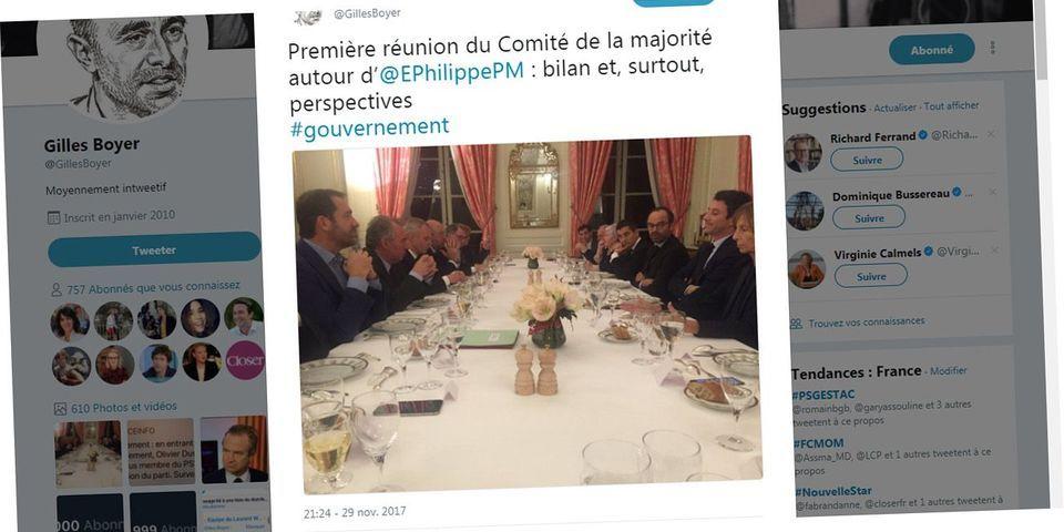 """La photo de famille (très masculine) du """"comité de la majorité"""" réuni par Édouard Philippe à Matignon"""
