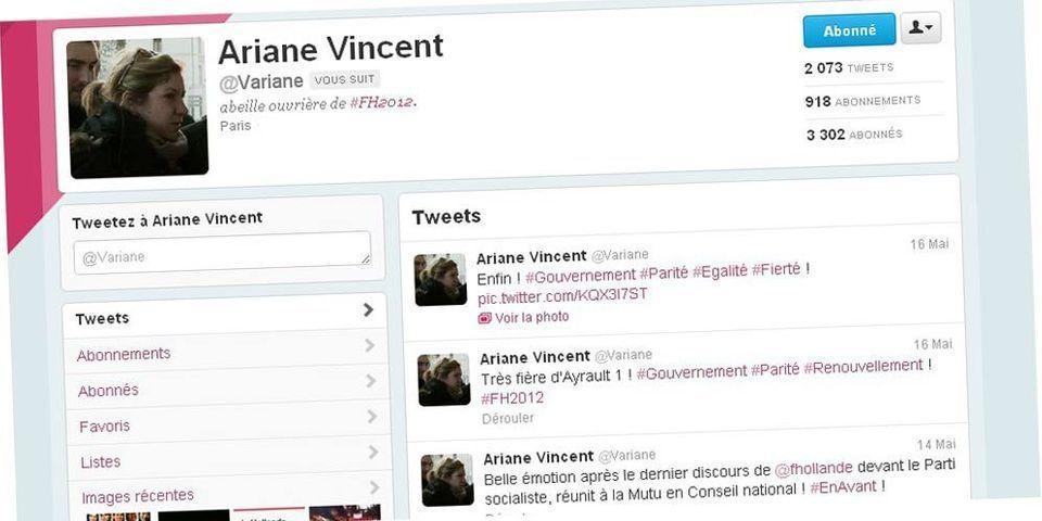 La plume de Hollande sur Twitter chez Najat Valaud-Belkacem