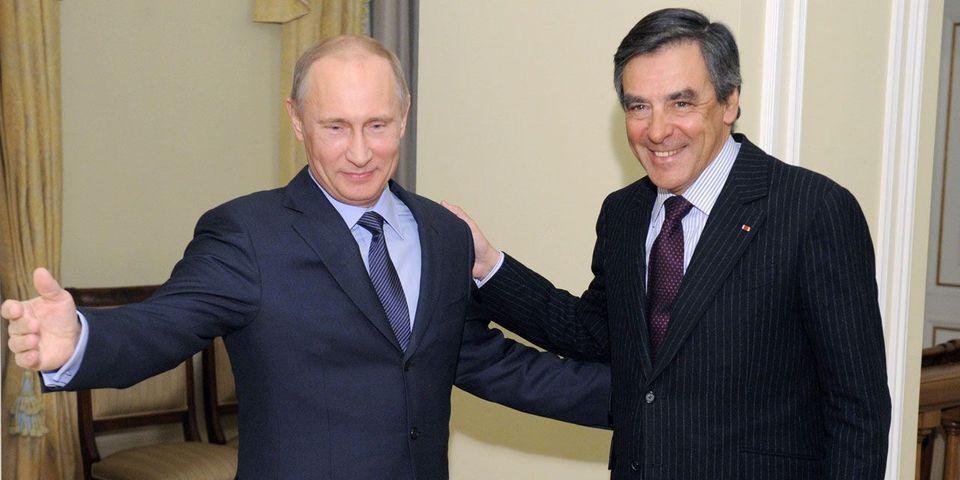 """La presse russe salue le résultat de François Fillon, cet """"ami de Moscou"""""""