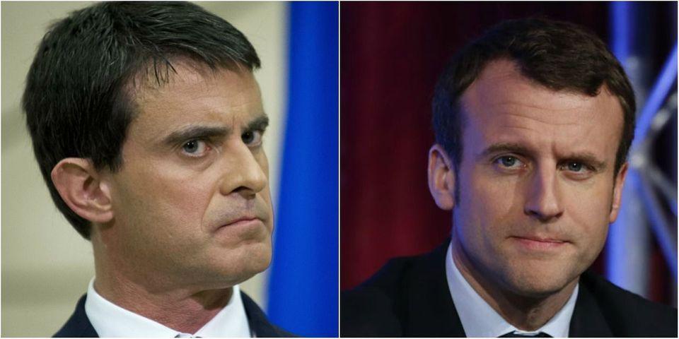 """La réaction minimaliste de Valls à la candidature d'Emmanuel Macron : """"rien ne m'affecte"""""""