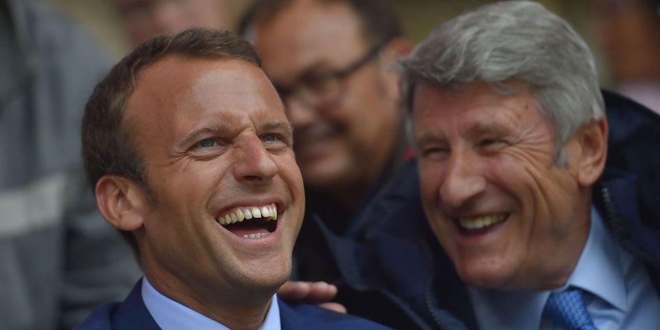 La rencontre Macron/de Villiers au Puy-du-Fou agace à gauche (et jusqu'à l'Elysée)