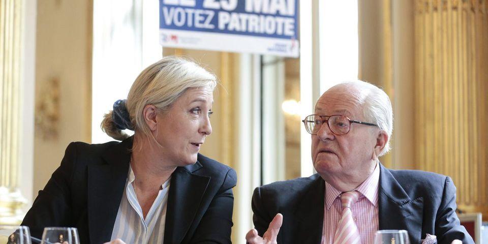 """La théorie du """"grand remplacement"""", nouveau désaccord entre Jean-Marie et Marine Le Pen"""
