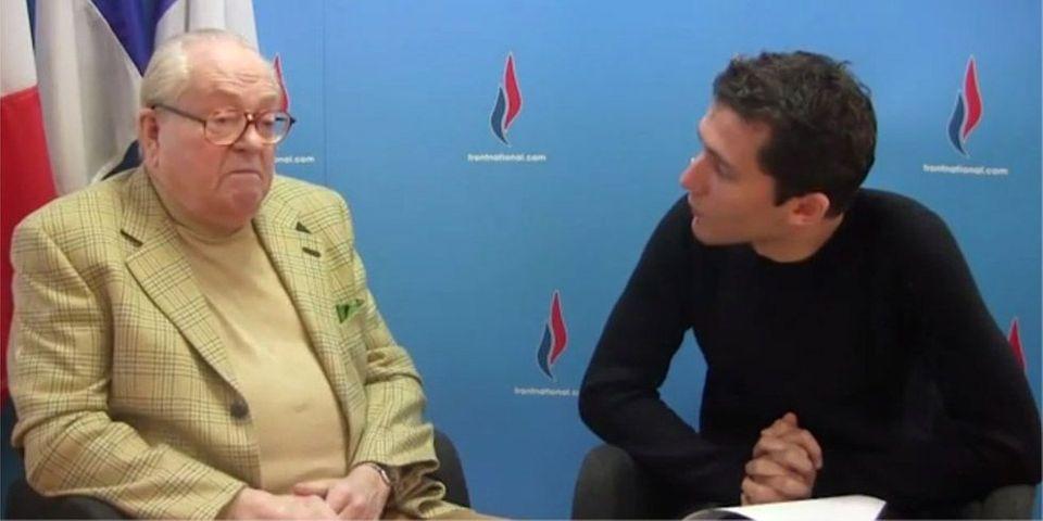 Jean-Marie Le Pen en tournée pour les municipales
