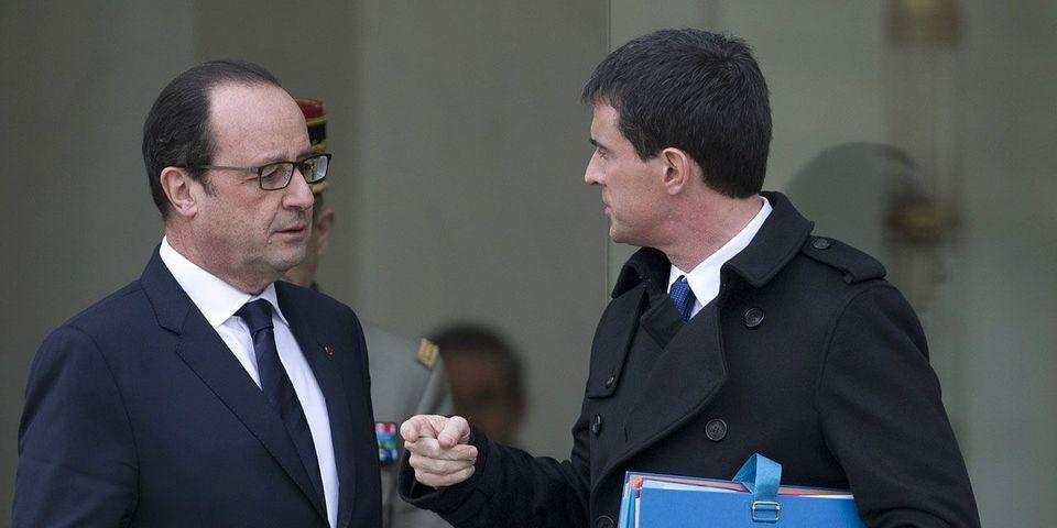 La visite surprise de François Hollande au Salon international de l'alimentation, le lendemain de celle de Manuel Valls