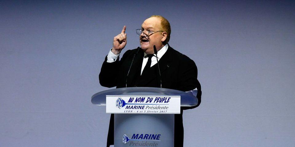L'acteur Franck de Lapersonne candidat FN aux prochaines élections législatives