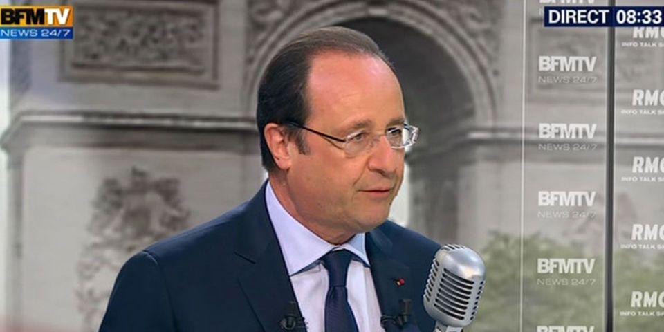 """Lapsus de François Hollande sur Leonarda : """"Cette jeune fille a été enlevée… euh… arrêtée…"""""""