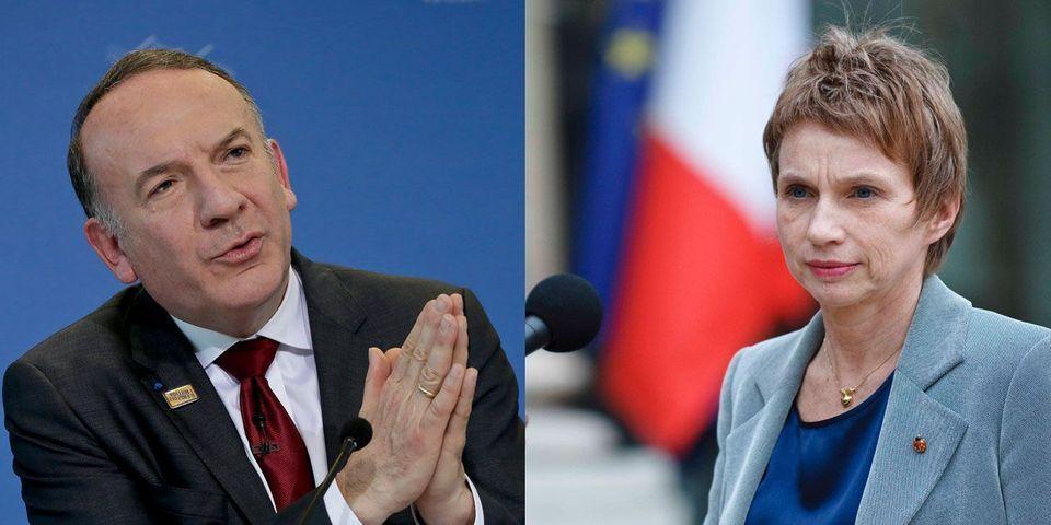 """Laurence Parisot continuera """"évidement"""" de parler, même si Pierre Gattaz lui demande de se taire"""