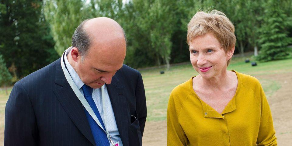 Laurence Parisot soutient Pierre Moscovici, désigné pour devenir commissaire européen, la droite sceptique