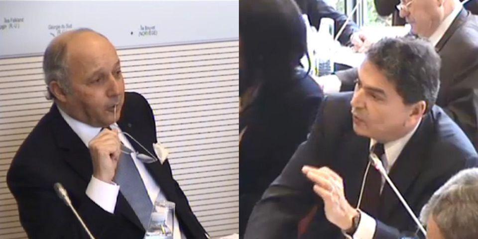 Laurent Fabius humilie le député UMP Pierre Lellouche, qui décide de s'en plaindre auprès de Claude Bartolone