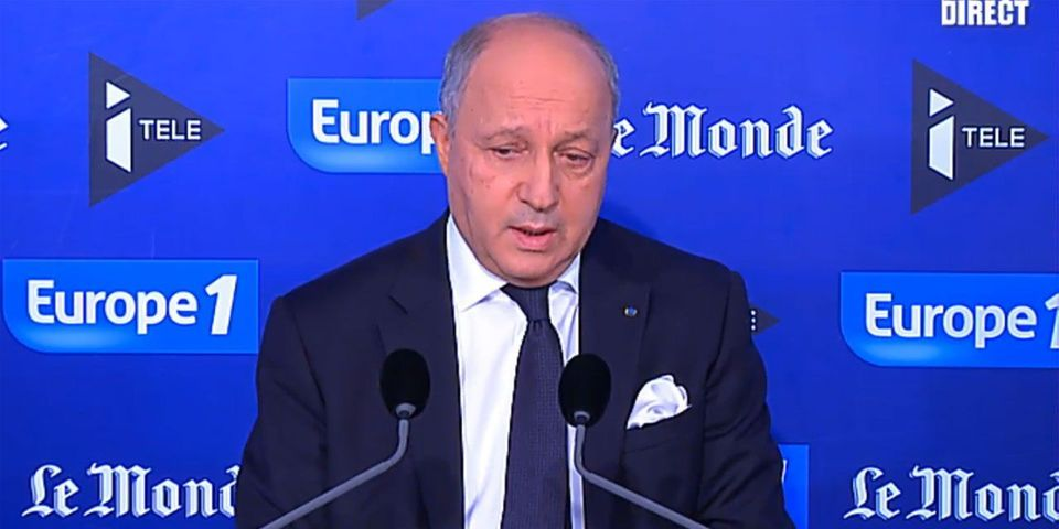 "Laurent Fabius préconise d'utiliser l'expression ""terroristes"" plutôt que ""islamistes"""