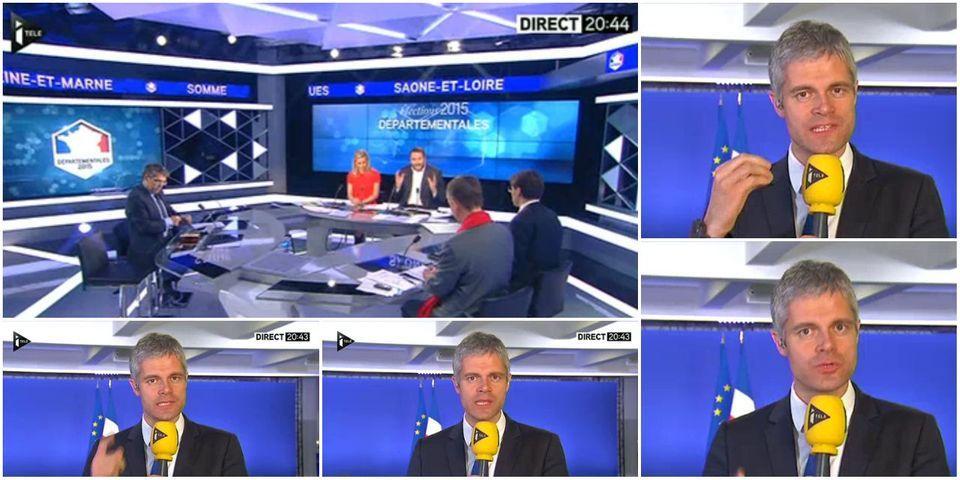 """Le micro était ouvert : un intervenant d'iTÉLÉ traite Wauquiez de """"posture"""" en plein direct"""
