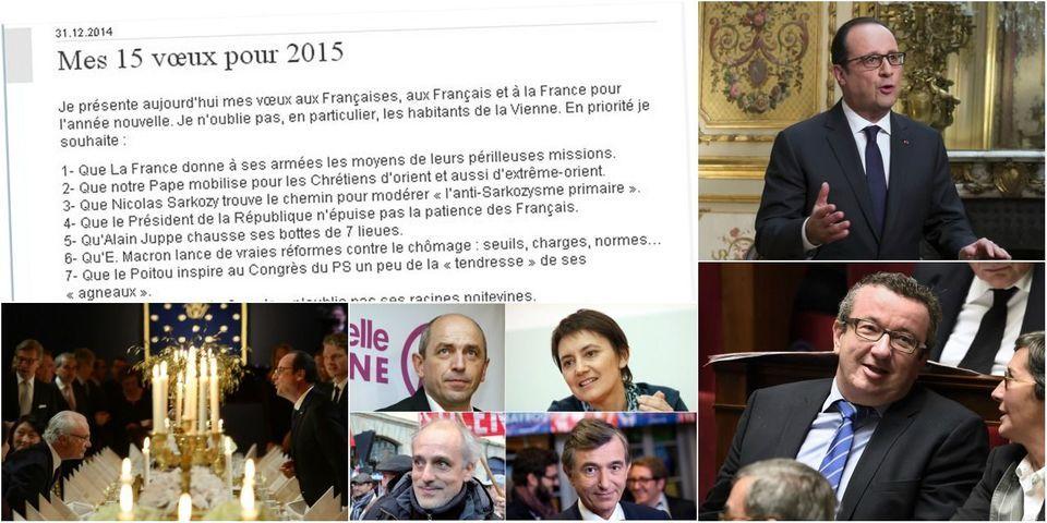 Le best-of des vœux 2015 de Jean-Pierre Raffarin, article le moins lu de la semaine