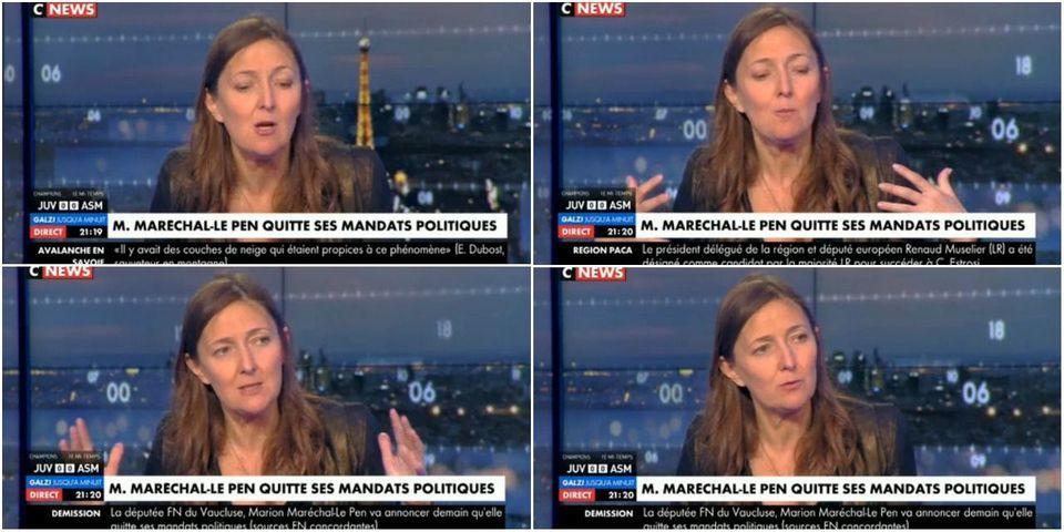 """Le """"calcul démoniaque"""" de Marion Maréchal-Le Pen pour 2022 vu par Karine Berger (PS)"""