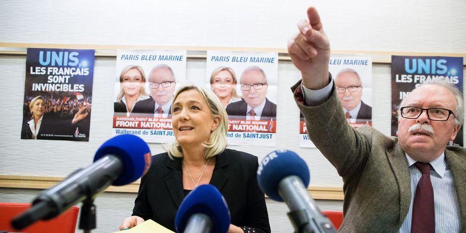 Le candidat FN à Paris, Wallerand de Saint-Just, assure que le pic de pollution est de la faute de l'Allemagne et d'Angela Merkel
