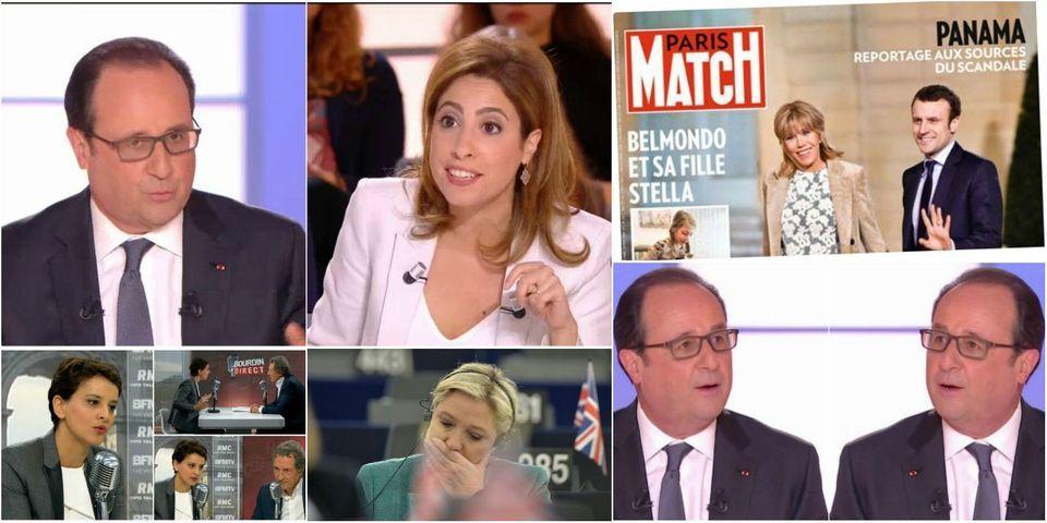 """Le """"c'est une plaisanterie !?"""" de Léa Salamé à François Hollande, article le plus lu de la semaine"""