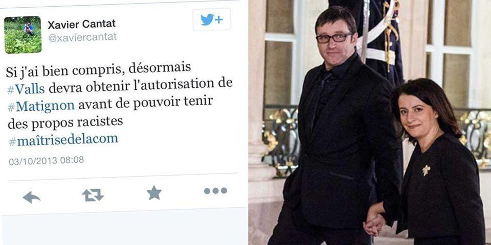 """Le compagnon de Cécile Duflot juge les propos de Manuel Valls sur les Roms """"racistes"""""""