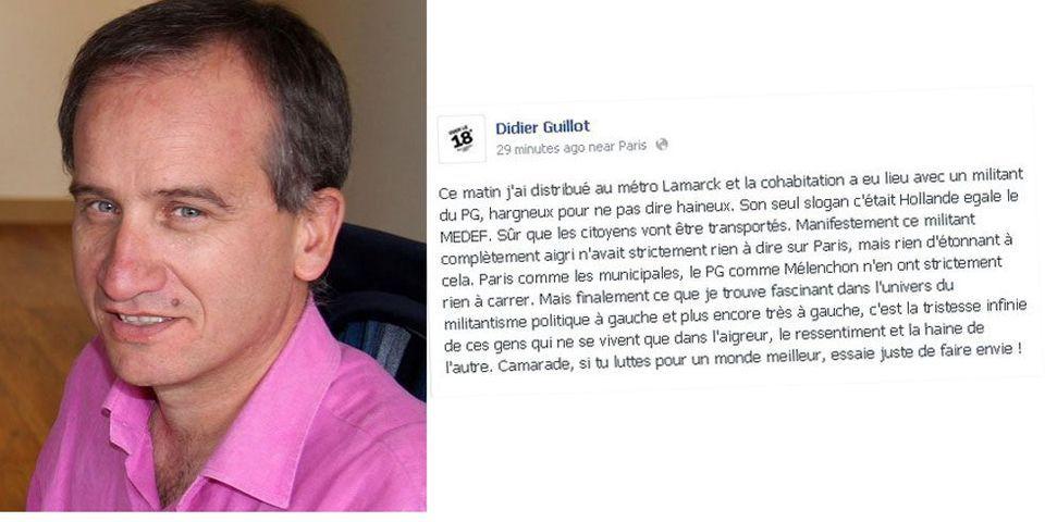 Le coup de colère d'un adjoint de Bertrand Delanoë contre le Parti de Gauche après un tractage