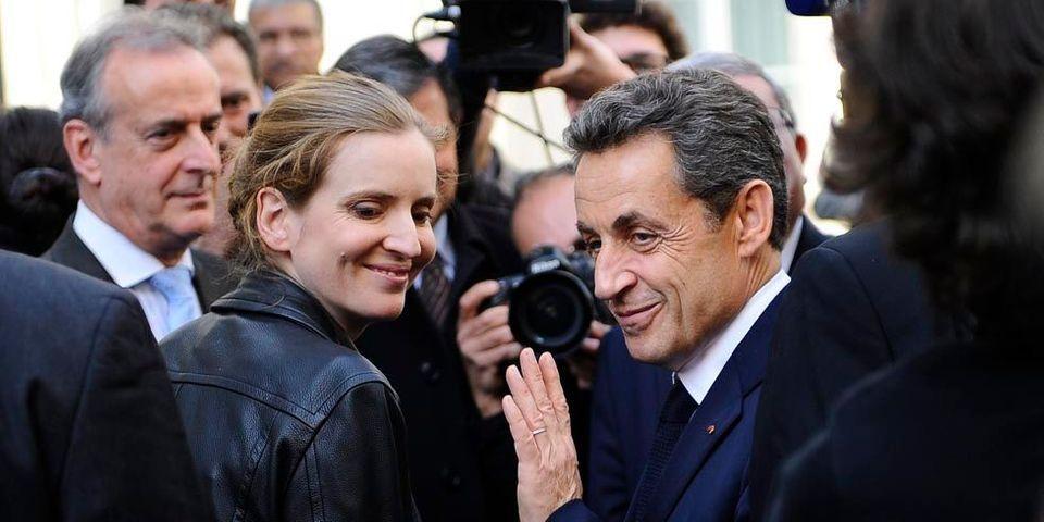 Le coup de com' raté au Parc des Princes de Nathalie Kosciusko-Morizet avec Nicolas Sarkozy