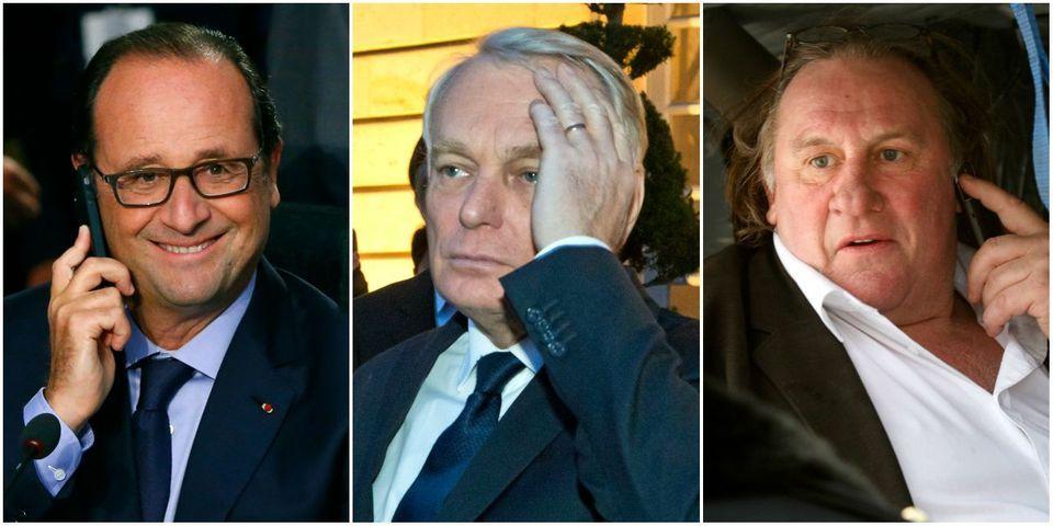 Le coup de fil de Gérard Depardieu à François Hollande pour se plaindre de Jean-Marc Ayrault